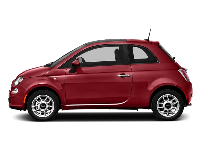 2016 FIAT 500 Pictures 500 Hatchback 3D Lounge I4 photos side view