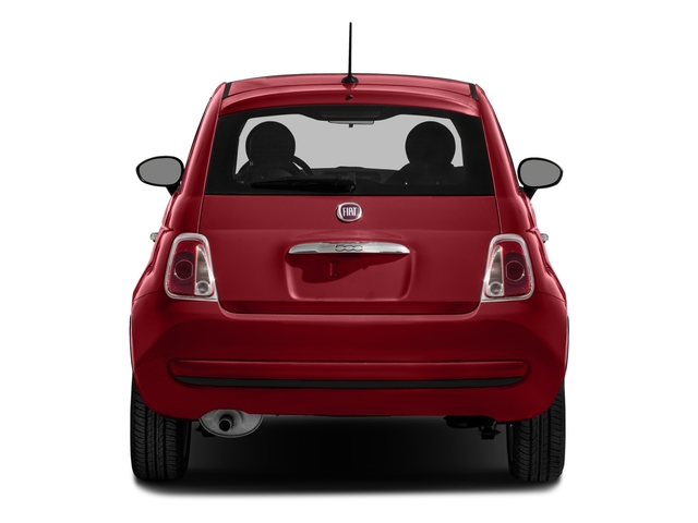 2016 FIAT 500 Pictures 500 Hatchback 3D Lounge I4 photos rear view