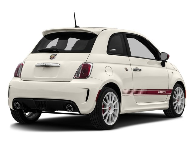 2016 FIAT 500 Prices and Values Hatchback 3D Abarth I4 side rear view