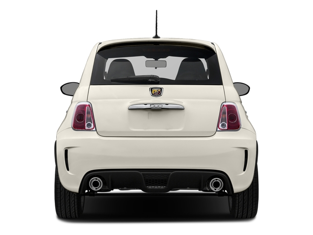 2016 FIAT 500 Prices and Values Hatchback 3D Abarth I4 rear view