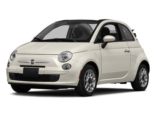 2016 FIAT 500c Pictures 500c Convertible 2D Lounge I4 photos side front view