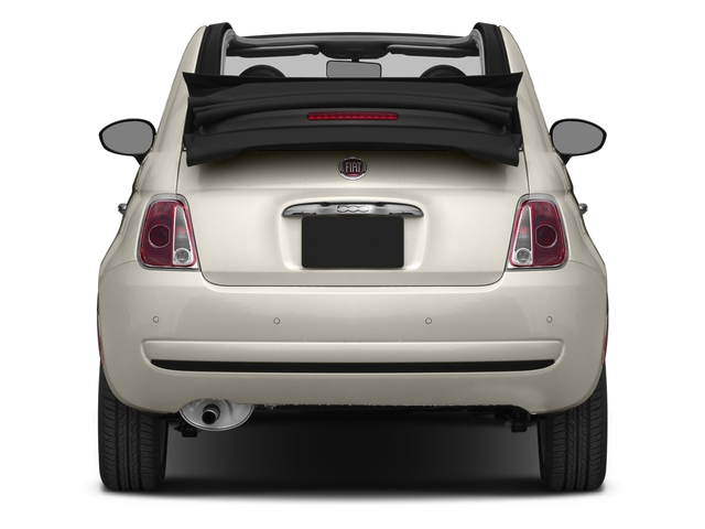 2016 FIAT 500c Pictures 500c Convertible 2D Lounge I4 photos rear view