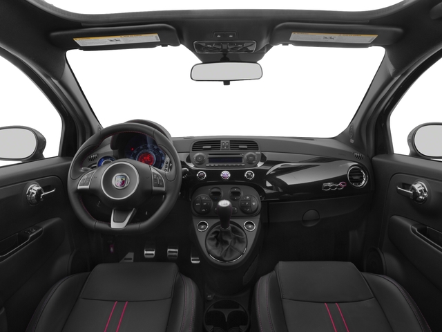 2016 FIAT 500c Prices and Values Convertible 2D Abarth I4 full dashboard