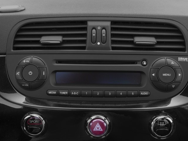 2016 FIAT 500c Prices and Values Convertible 2D Abarth I4 stereo system