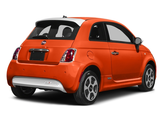2016 FIAT 500e Prices and Values Hatchback 3D 500e Electric side rear view