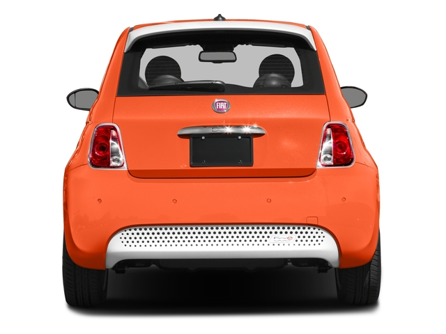 2016 FIAT 500e Prices and Values Hatchback 3D 500e Electric rear view