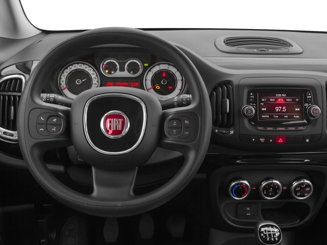 2016 FIAT 500L Prices and Values Hatchback 5D L Pop I4 Turbo driver's dashboard