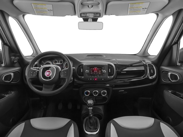 2016 FIAT 500L Prices and Values Hatchback 5D L Pop I4 Turbo full dashboard