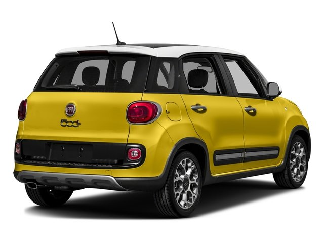 2016 FIAT 500L Prices and Values Hatchback 5D L Trekking I4 Turbo side rear view