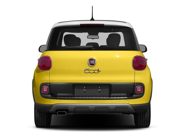 2016 FIAT 500L Prices and Values Hatchback 5D L Trekking I4 Turbo rear view