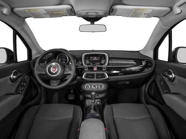 2016 FIAT 500X Pictures 500X Utility 4D Easy 2WD I4 photos full dashboard