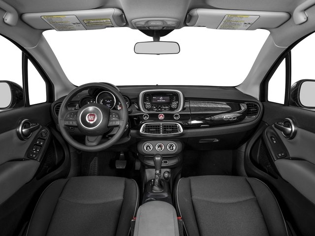 2016 FIAT 500X Pictures 500X Utility 4D Trekking Plus 2WD I4 photos full dashboard