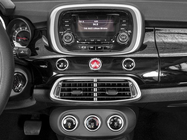 2016 FIAT 500X Prices and Values Utility 4D Easy 2WD I4 stereo system