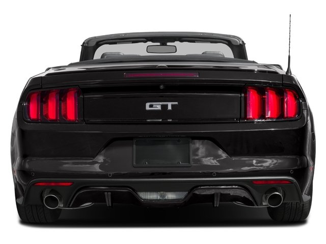 2016 Ford Mustang Pictures Mustang Convertible 2D GT Premium V8 photos rear view