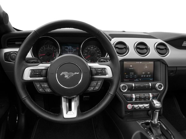 2016 Ford Mustang Pictures Mustang Convertible 2D GT Premium V8 photos driver's dashboard