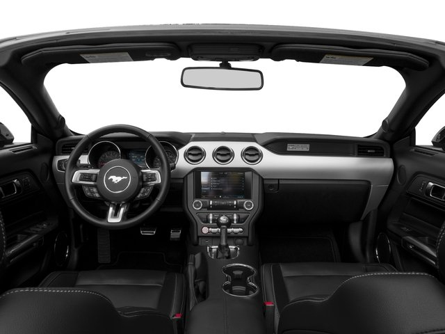 2016 Ford Mustang Pictures Mustang Convertible 2D GT Premium V8 photos full dashboard