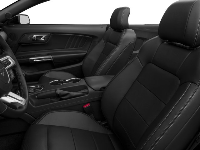 2016 Ford Mustang Pictures Mustang Convertible 2D GT Premium V8 photos front seat interior
