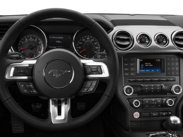 2016 Ford Mustang Prices and Values Coupe 2D GT V8 driver's dashboard