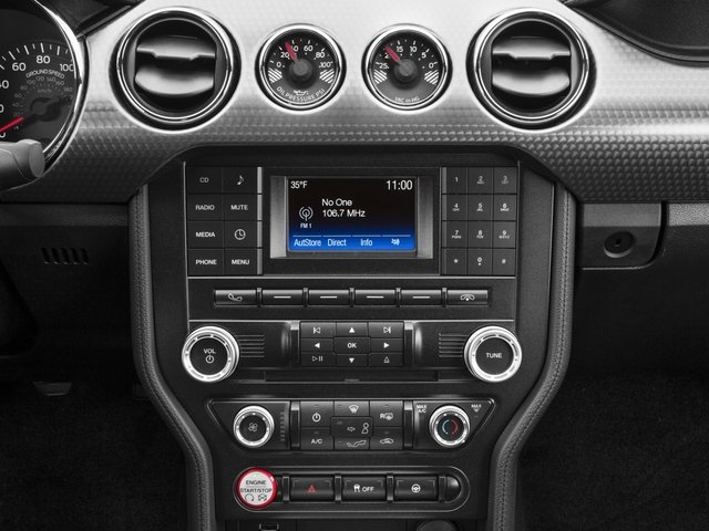 2016 Ford Mustang Prices and Values Coupe 2D GT V8 stereo system