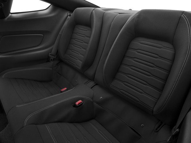 2016 Ford Mustang Prices and Values Coupe 2D GT V8 backseat interior