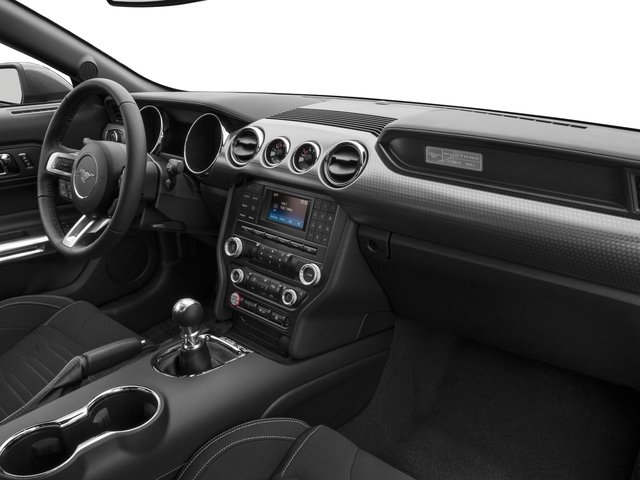 2016 Ford Mustang Prices and Values Coupe 2D GT V8 passenger's dashboard