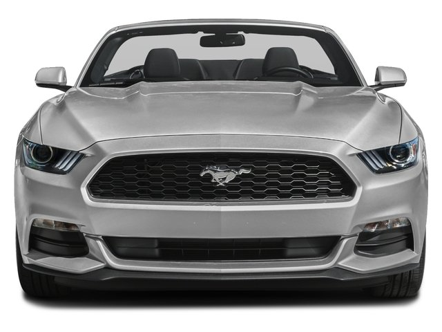 2016 Ford Mustang Pictures Mustang Convertible 2D V6 photos front view
