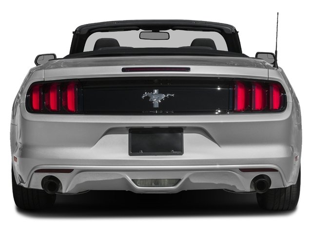 2016 Ford Mustang Pictures Mustang Convertible 2D V6 photos rear view