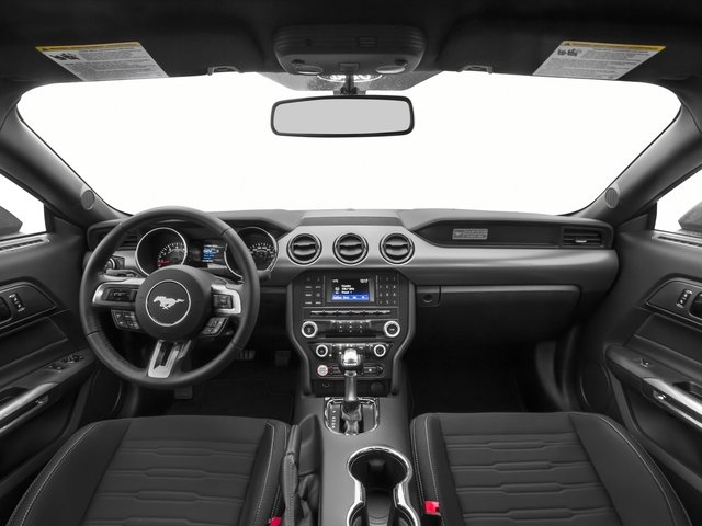 2016 Ford Mustang Pictures Mustang Coupe 2D EcoBoost Premium I4 Turbo photos full dashboard