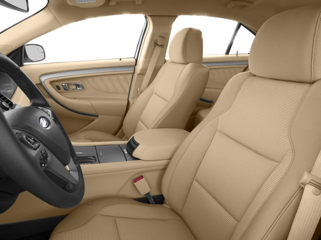 2016 Ford Taurus Prices and Values Sedan 4D Limited EcoBoost I4 Turbo front seat interior