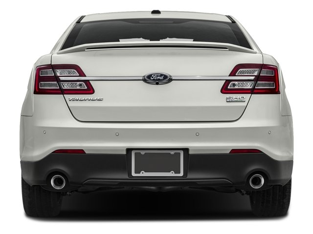 2016 Ford Taurus Prices and Values Sedan 4D SHO AWD V6 Turbo rear view