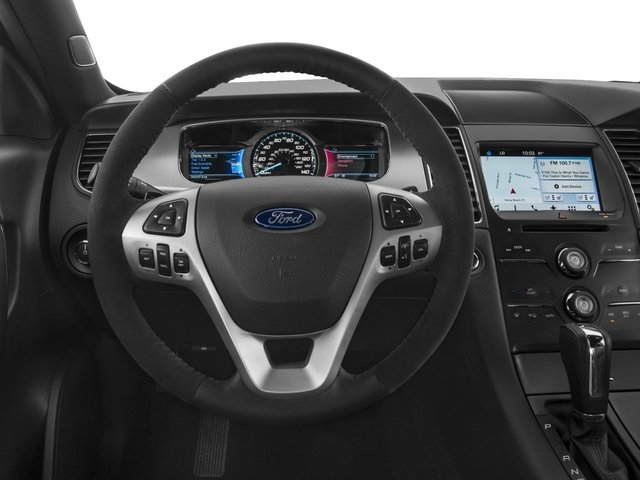 2016 Ford Taurus Prices and Values Sedan 4D SHO AWD V6 Turbo driver's dashboard
