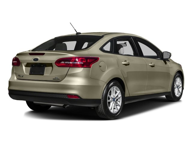 2016 Ford Focus Prices and Values Sedan 4D SE EcoBoost I3 Turbo side rear view