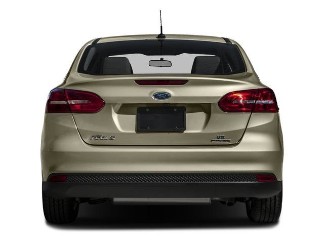 2016 Ford Focus Prices and Values Sedan 4D SE EcoBoost I3 Turbo rear view
