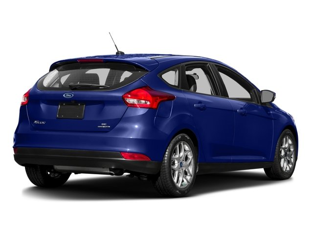 2016 Ford Focus Prices and Values Hatchback 5D SE I4 side rear view
