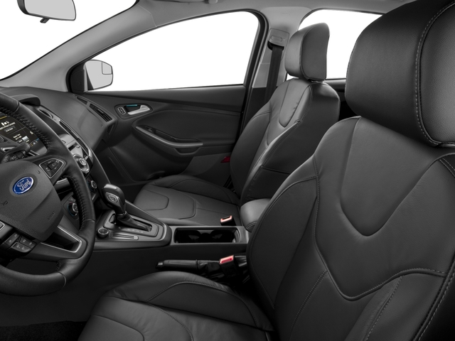 2016 Ford Focus Prices and Values Hatchback 5D SE I4 front seat interior