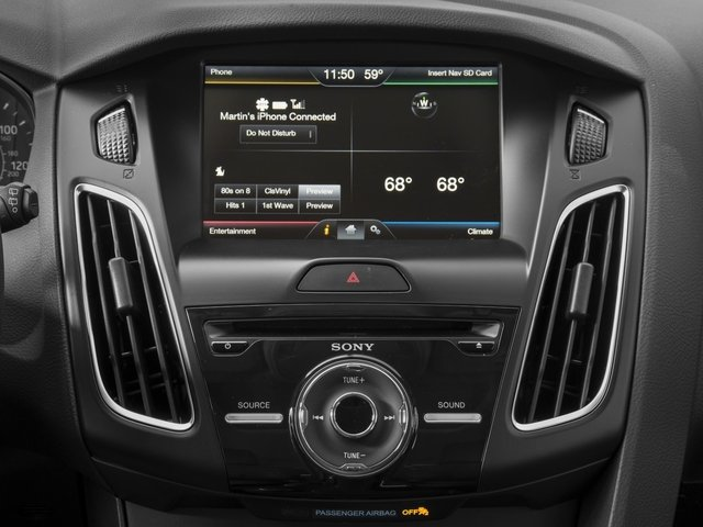 2016 Ford Focus Prices and Values Hatchback 5D SE I4 stereo system