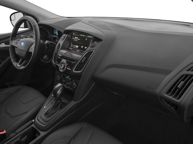 2016 Ford Focus Prices and Values Hatchback 5D SE I4 passenger's dashboard
