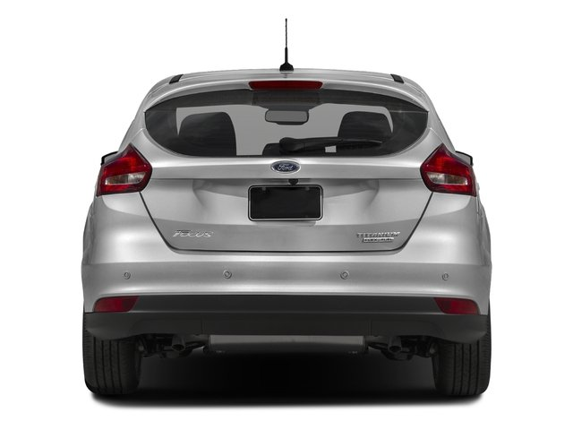 2016 Ford Focus Prices and Values Hatchback 5D Titanium I4 rear view