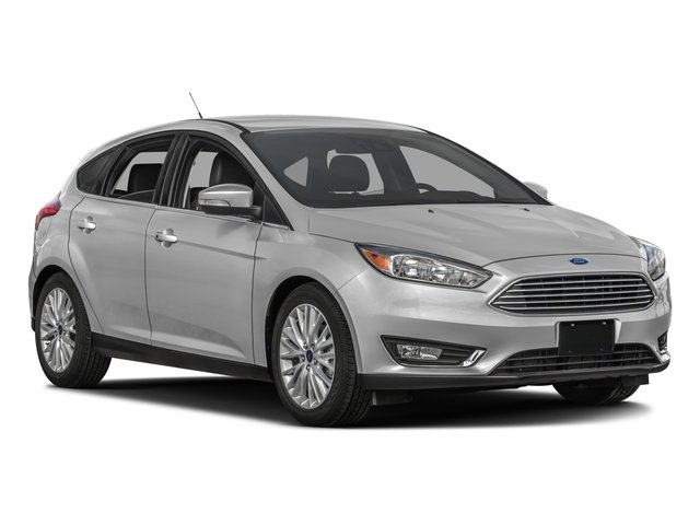 2016 Ford Focus Prices and Values Hatchback 5D Titanium I4 side front view