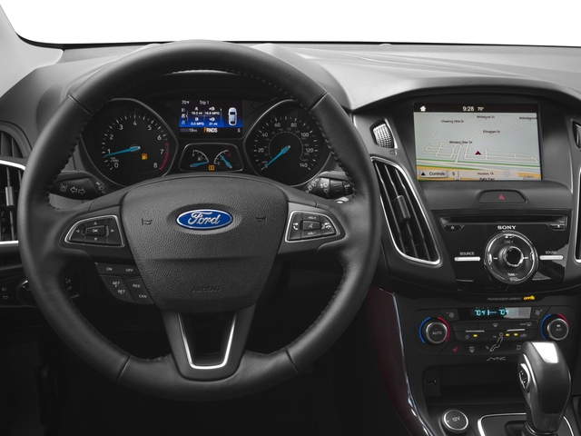 2016 Ford Focus Prices and Values Hatchback 5D Titanium I4 driver's dashboard