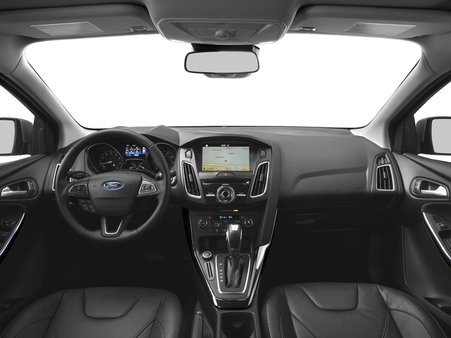 2016 Ford Focus Prices and Values Hatchback 5D Titanium I4 full dashboard