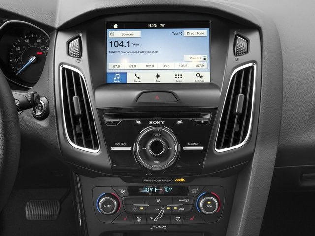 2016 Ford Focus Prices and Values Hatchback 5D Titanium I4 stereo system