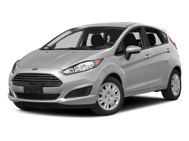 2016 Ford Fiesta Pictures Fiesta Hatchback 5D SE EcoBoost I3 Turbo photos side front view