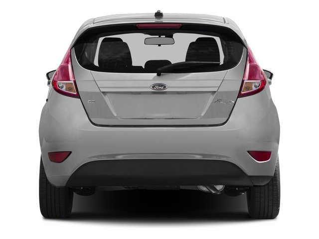 2016 Ford Fiesta Pictures Fiesta Hatchback 5D SE EcoBoost I3 Turbo photos rear view