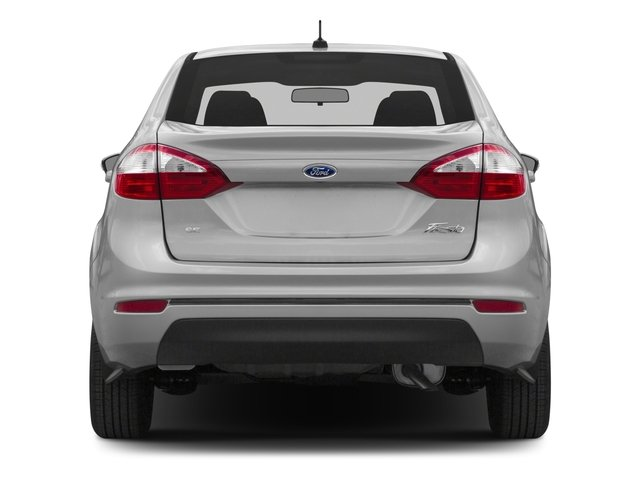 2016 Ford Fiesta Pictures Fiesta Sedan 4D SE I4 photos rear view