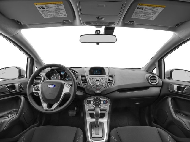2016 Ford Fiesta Pictures Fiesta Sedan 4D SE I4 photos full dashboard