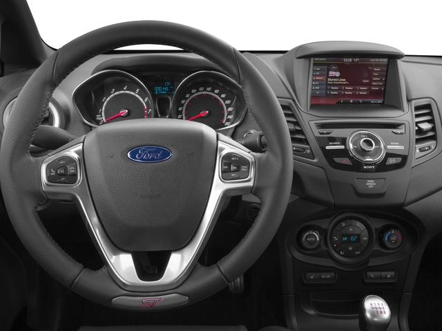 2016 Ford Fiesta Prices and Values Hatchback 5D ST I4 Turbo driver's dashboard