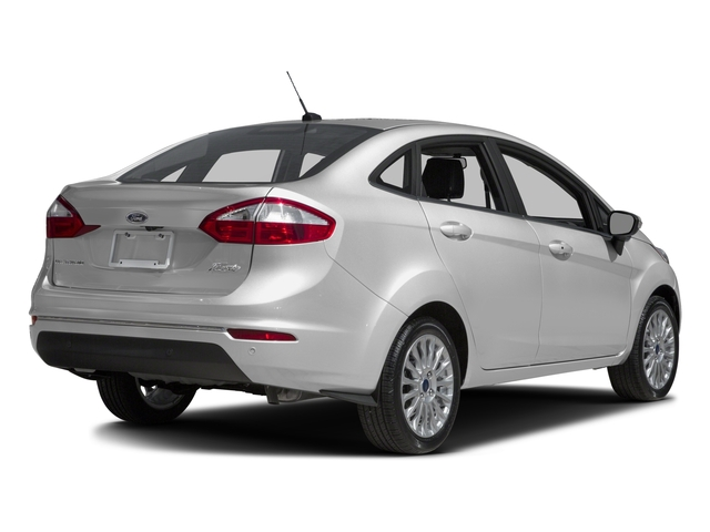 2016 Ford Fiesta Prices and Values Sedan 4D Titanium I4 side rear view