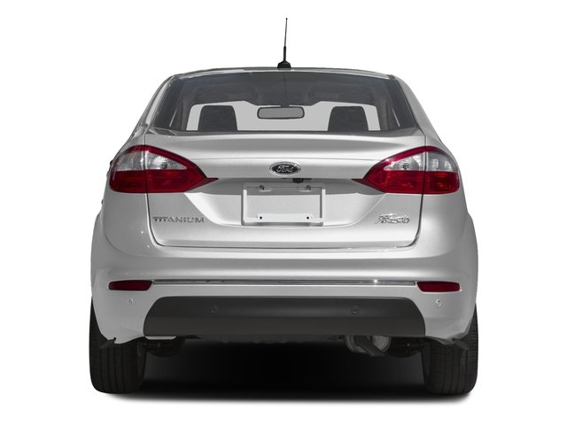 2016 Ford Fiesta Prices and Values Sedan 4D Titanium I4 rear view