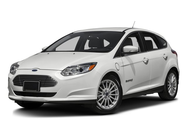 2016 Ford Focus Electric Pictures Focus Electric Hatchback 5D Electric photos side front view